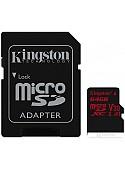 Карта памяти Kingston Canvas React SDCR/64GB microSDXC 64GB (с адаптером)