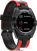 Умные часы Prolike PLSW7000 (черный/красный)