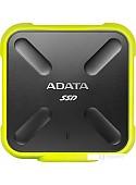 Внешний накопитель A-Data SD700 ASD700-512GU31-CYL 512GB (желтый)