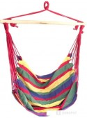 Кресло-гамак Sipl 100x90 см (красный/зеленый)