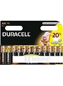 Батарейки DURACELL AA 12 шт.