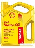 Моторное масло Shell 10W-40 4л