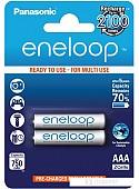 Аккумуляторы Panasonic Eneloop AAA 750mAh 2 шт. (BK-4MCCE/2BE)