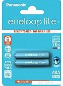 Аккумуляторы Panasonic Eneloop Lite AAA 550mAh 2 шт. [BK-4LCCE/2BE]