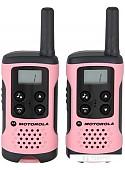 Портативная радиостанция Motorola TLKR T41 (розовый)