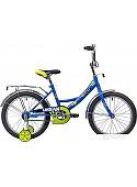 Детский велосипед Novatrack Urban 18 (синий/желтый, 2019)