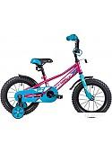 Детский велосипед Novatrack Valiant 14 (красный/голубой, 2019)