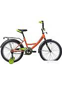 Детский велосипед Novatrack Vector 20 (оранжевый/желтый, 2019)
