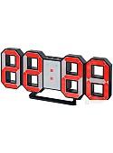 Радиочасы Perfeo Luminous PF-663 (черный/красный)