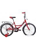Детский велосипед Novatrack Urban 20 (красный/черный, 2019)