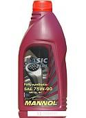 Трансмиссионное масло Mannol Basic Plus 75W-90 API GL 4+ 1л