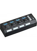 USB-хаб Buro BU-HUB4-U3.0-L