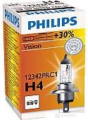 Галогенная лампа Philips H4 Premium 1шт [12342PRC1]