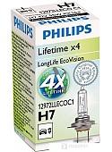 Галогенная лампа Philips H7 LongLife EcoVision 1шт [12972LLECOC1]