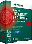 Система защиты ПК от интернет-угроз Kaspersky Internet Security (2 ПК, 1 год, продление, BOX)