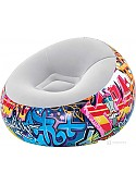 Надувное кресло Bestway Graffiti 75075