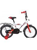 Детский велосипед Novatrack Astra 16 2020 163ASTRA.WT20 (белый/красный)