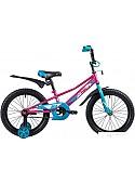 Детский велосипед Novatrack Valiant 18 2019 183VALIANT.RD9 (сиреневый/голубой)