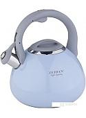 Чайник со свистком ZEIDAN Z-4250 (голубой)