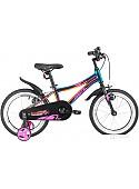Детский велосипед Novatrack Prime New 16 2020 167APRIME1V.GVL20 (хамелеон синий/фиолетовый)