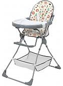 Стульчик для кормления Polini Kids Disney Baby 252 (лесные друзья, серый)