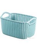 Корзина Curver Knit XS 3L (серо-голубой) 226395