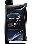 Моторное масло Wolf VitalTech V 0W-30 1л