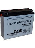 Мотоциклетный аккумулятор TAB YB16АL-A2 (16 А·ч)