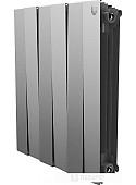 Биметаллический радиатор Royal Thermo PianoForte 500 Silver Satin (3 секции)