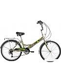 Велосипед Novatrack TG-24 Classic 6.0 FS 2020 (серый)