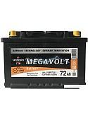 Автомобильный аккумулятор Megavolt 12V +R (72 А·ч)